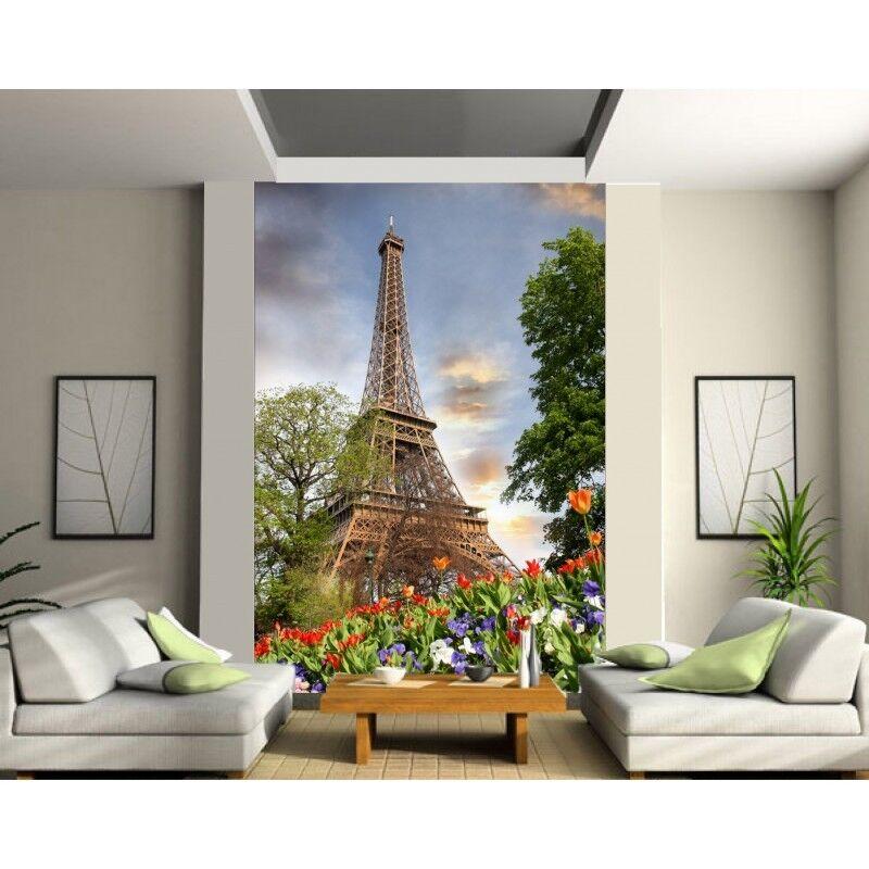 Stickers muraux géant déco   Tour Eiffel 1294