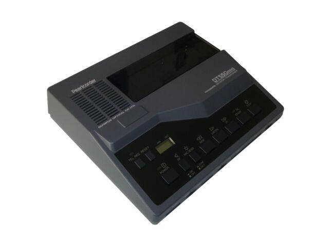 Olympus Pearlcorder DT550 mini Wiedergabegerät für Microkassetten           *100