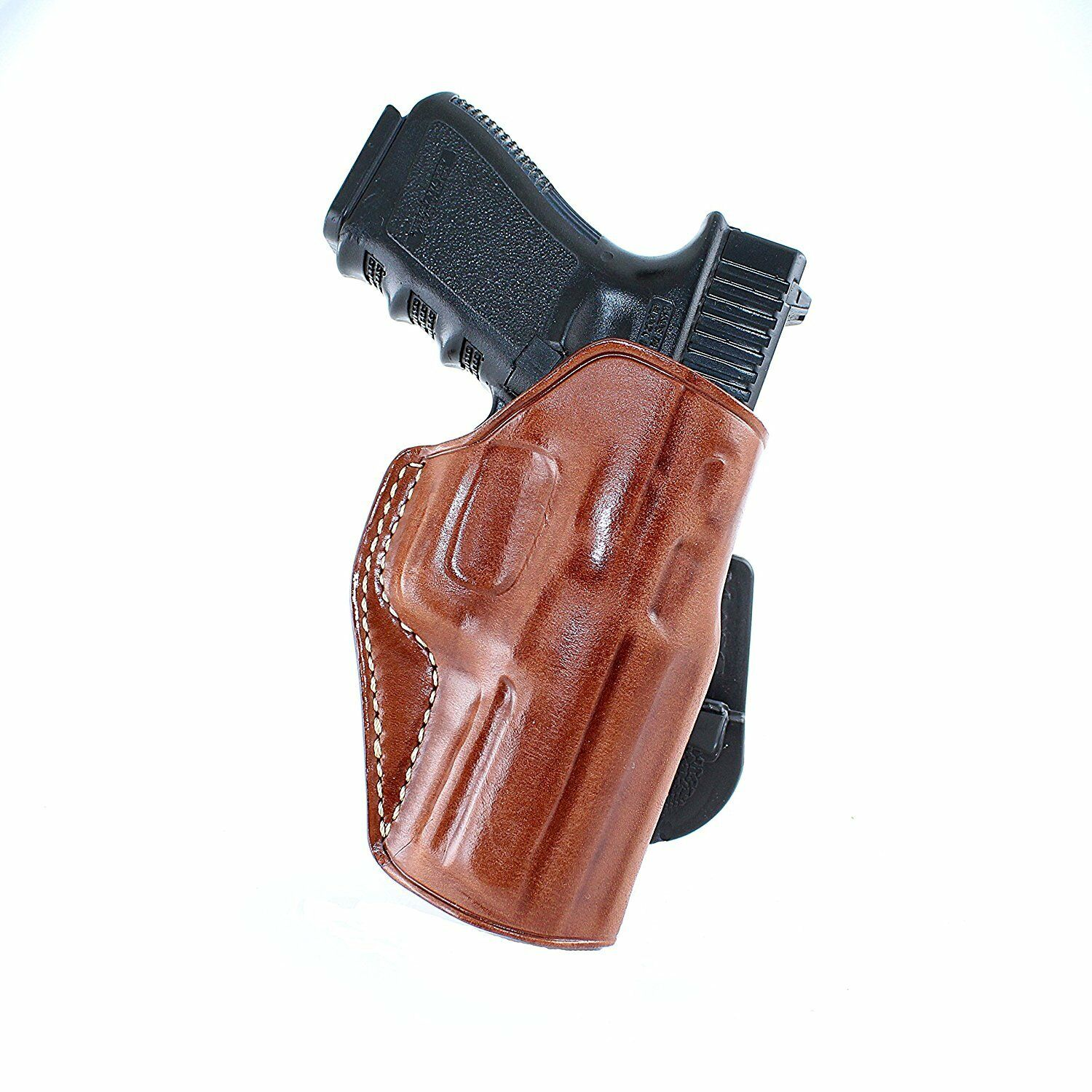 LEATHER PADDLE OWB HOLSTER FOR CANIK 55, CANIK TP9 SA, TP 40, C100 9mm