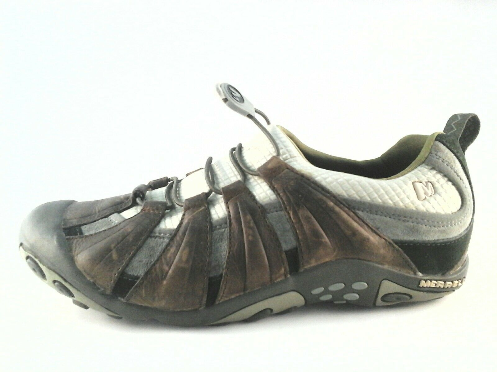 EUC Merrell Womens Caper Desert Sage Slip On shoes Walking Hiking US 7 EU 37.5