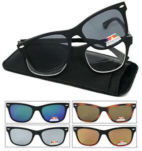 49c62e2044e Image is loading Square-Frame-Magnetic-Clip-On-Polarized-Sunglasses-On-
