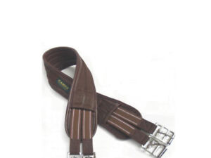 Waffle-Atherstone-Humane-Jumping-Eventing-Girth-Black-Brown-FREE-DELIVERY