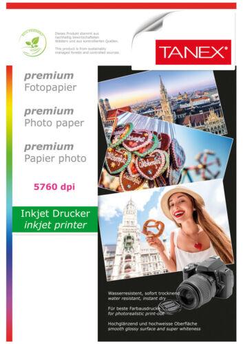 TANEX Fotopapier hochglänzend 180g 25 Blatt DIN A4