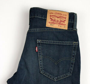 Levi's Strauss & Co Hommes 511 Slim Jeans Extensible Taille W30 L32 ARZ849