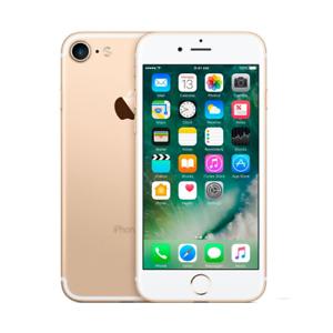 Apple-IPHONE-7-32GB-Gold-Gold-Gebrochen-Defekt-Motherboard-Stuecke-Ersatzteile