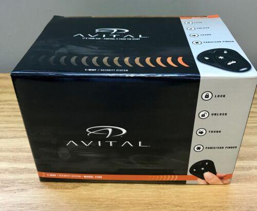 Avital 3100 3100L 1-way Car Alarm Security System Brand New Car Alarm Only