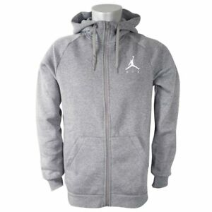d861ac031ebb Men s Air Jordan Sports Wear Flight Fleece Full Zip Up Hooded ...
