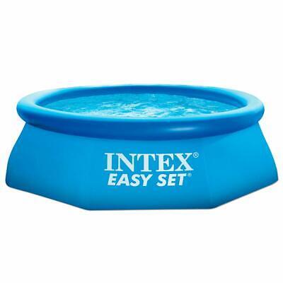 Intex Piscinette Easy Set 2,44 X 0,76 M Autostable 56970Fr Piscine