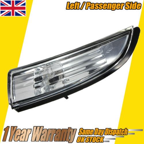 Wing Mirror Indicator Light Lens Cover Ford Fiesta 08-14 UK Passenger Left Side