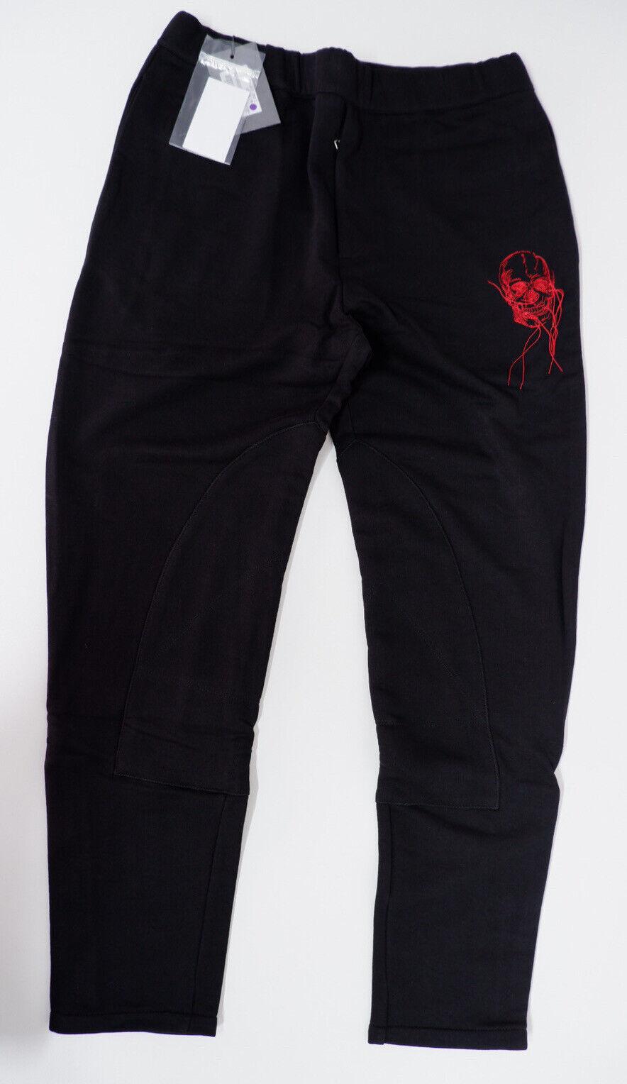 Alexander McQueen Mens Thread Skull Tracksuit Bottoms, Pants, XL, NEW