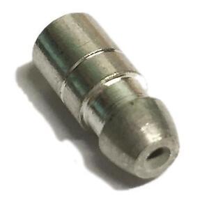 10x-Connettori-Pallottola-Terminali-a-Crimpare-in-ottone-saldato-4-7-mm-diam-Filo-0-65-mm