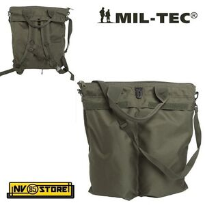 Details about Mil Tec FLYER HELMET BAG BACKPACK Bag Helmet Helmet or Military Airsoft show original title
