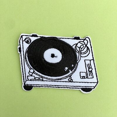 Retro Cassette Player Music Mix Tape Sew Or Iron On Jeans Patch Badge APPLIQUE