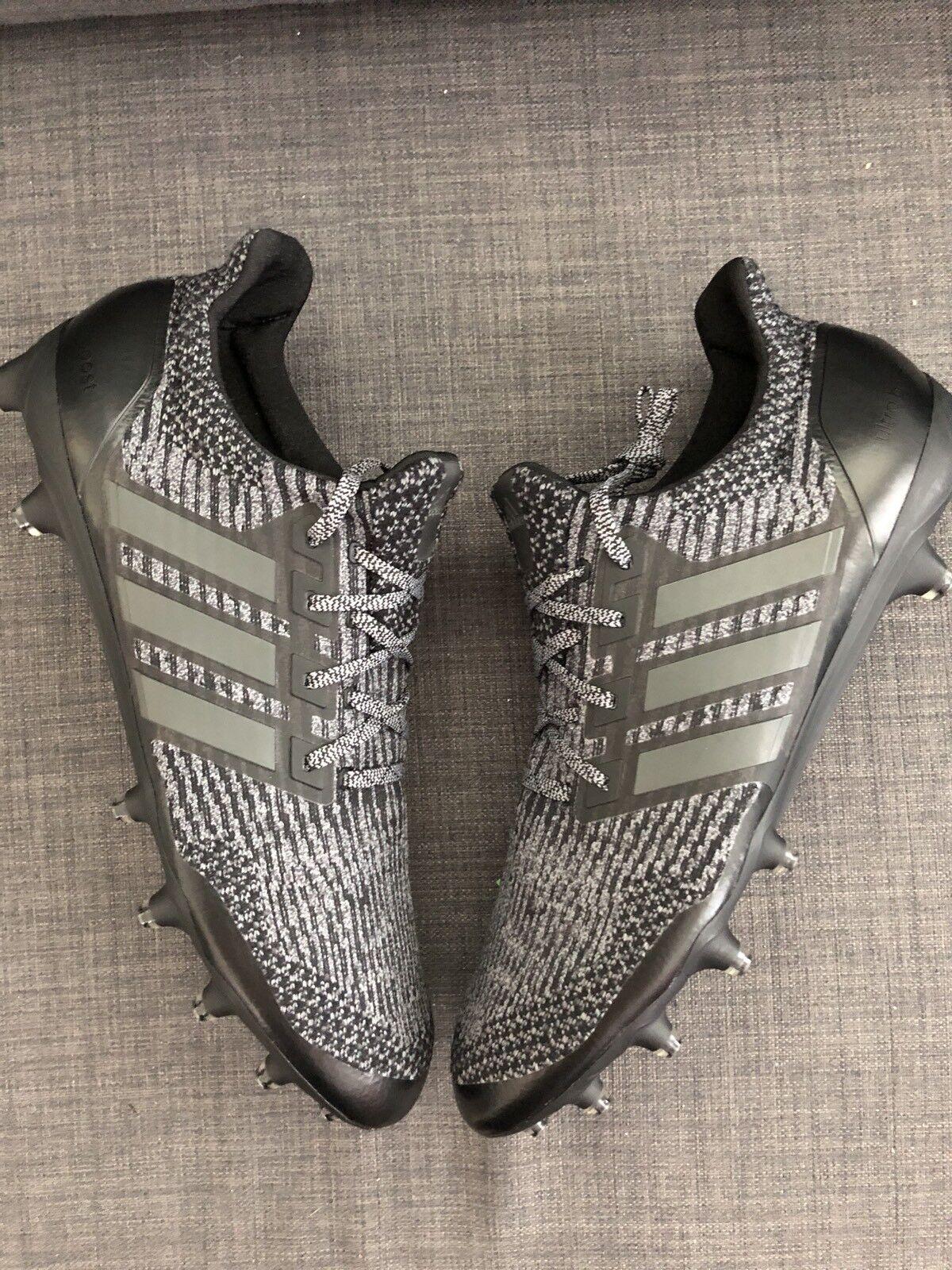 Adidas Ultra Boost Cleats Black untouchable CG4815 Football UltraBoost sz 14 NEW
