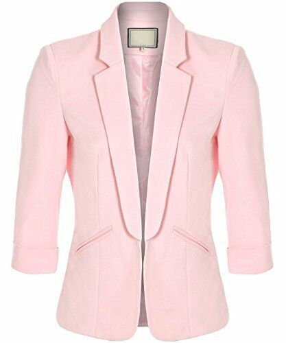 Ladies Celebrity Inspired Smart Fashionable Fitted Taylor Blazer UK Size 8-16