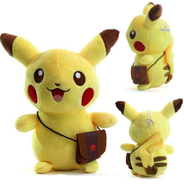 Pokemon Go Pikachu Plush Toy Soft Cute Stuffed Animal Doll Kids Birthday Gifts