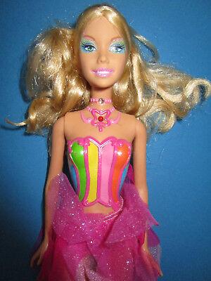 B1097) Bionda Barbie Fairytopia Fata/elfo Mattel 2004 Senza Ali E Funzione-mostra Il Titolo Originale Possedere Sapori Cinesi
