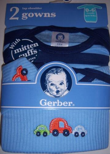 Cars 0-6 Months 2 Pack Boy/'s Lap Shoulder Gowns Baby Shower