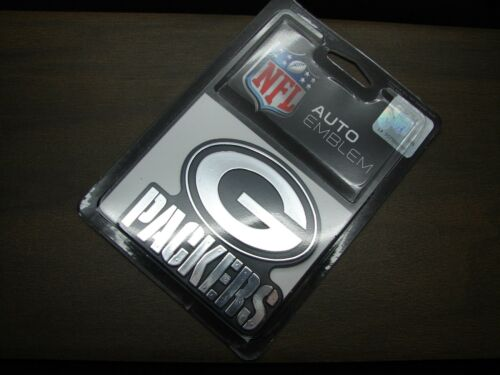 NFL GREEN BAY PACKERS EMBLEM STICKER DECAL FOR CARS