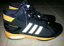 Adidas As Futurestar Boost West Basketball Men's Shoes Black/Yellow Size 14.5
