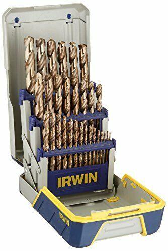 IRWIN IRW10502588 TiN Coated /& Cobalt Jobber Drills