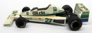 Western-escala-1-43-De-Metal-Blanco-17OCT17P-FW06-Saudia-Williams-Jones-Modelo-F1-coche