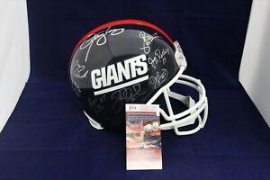 New-York-Giants-Team-Signed-Super-Bowl-XXI-21-Helmet-23-Signatures-LT-JSA