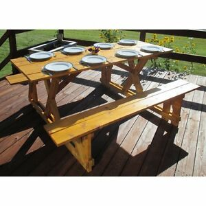 Image Is Loading Infinite Cedar EZ Access Cedar Picnic Table