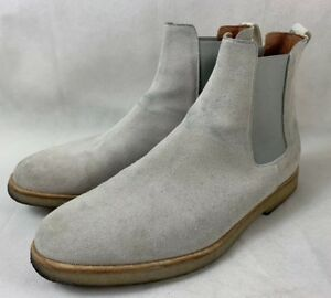 bbcfec64e7a3 Image is loading Common-Projects-Chelsea-Boots-Grey-Suede-Mens-40EU-