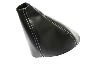 Shift Boot Synthetic Leather for Hummer H3 05-11 Automatic Black w//Gray Stitch