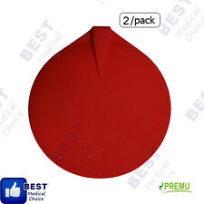"""CHATTANOOGA, ELECTRODE 3"""" RUBBER CARBON RE-USABLE, RED (2/PACK)"""