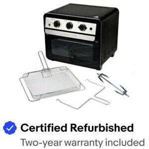 Curtis Stone 1700-Watt 22L Air Fryer Oven w/Rotisserie - Certified Refurbished