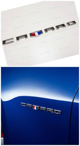 1PC Chrome CAMARO Letter Emblem 3D for Badge GM Chevy Zl1 SS CAMARO