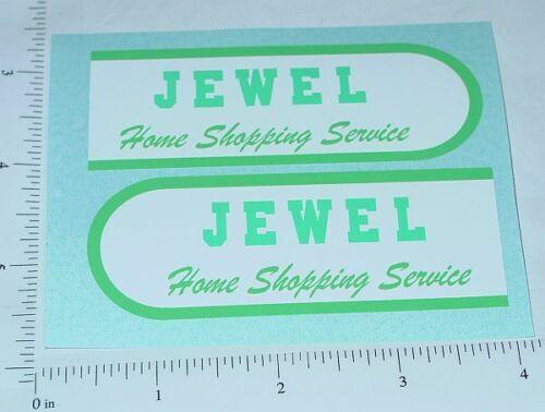 Buddy L Jewel Stores Step Van Sticker Set       BL-124