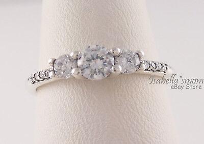 Fairytale Sparkle Ring Size 56 Genuine S925 New *Hallmarked*