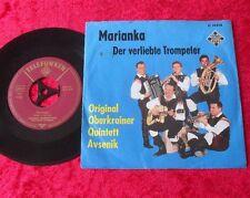 """Single 7"""" Slavko Avsenik e la sua originale oberkrainer-Marianka"""