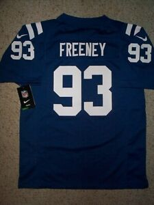 70) NIKE Indianapolis Colts DWIGHT FREENEY nfl Jersey YOUTH KIDS ...