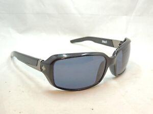 093ca7b206b Image is loading Spy-Zoe-Polished-Black-Sunglasses