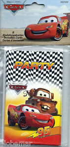 6 CARTES INVITATION ANNIVERSAIRE CARS lsLUYSD5-08134842-632858141