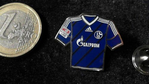 S04 Schalke Trikot Pin Badge Home 2012 2013 Gazprom