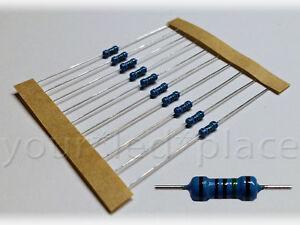 20-50-100-Widerstaende-10-820-Ohm-1-1-4W-E12-0207-Metallfilm-LED-SMD-Resistor-R