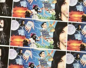 PRINCE-Original-CD-BOOK-Poster-PURPLE-RARE-Doppelseitig-100-x-70-5-Unbenutzt