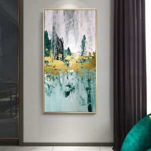 Details About Vv514 Modern Hand Painted Canvas Scenery Oil Painting Decorate No Frame 36