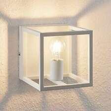Wandlampe CAROL Drahtgestell Lampe Schwarz Metall modern Wandleuchte Käfig offen