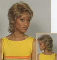 Blonde Short Curly Wig W/ Bangs, W/ Layers Of Soft Curls