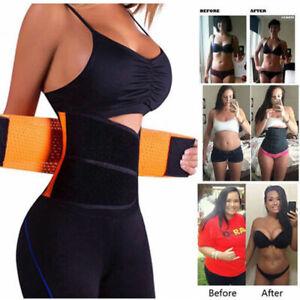 Hot-Xtreme-Power-Belt-Slimming-Sport-Body-Shapers-Waist-Trainer-Trimmer-Womens