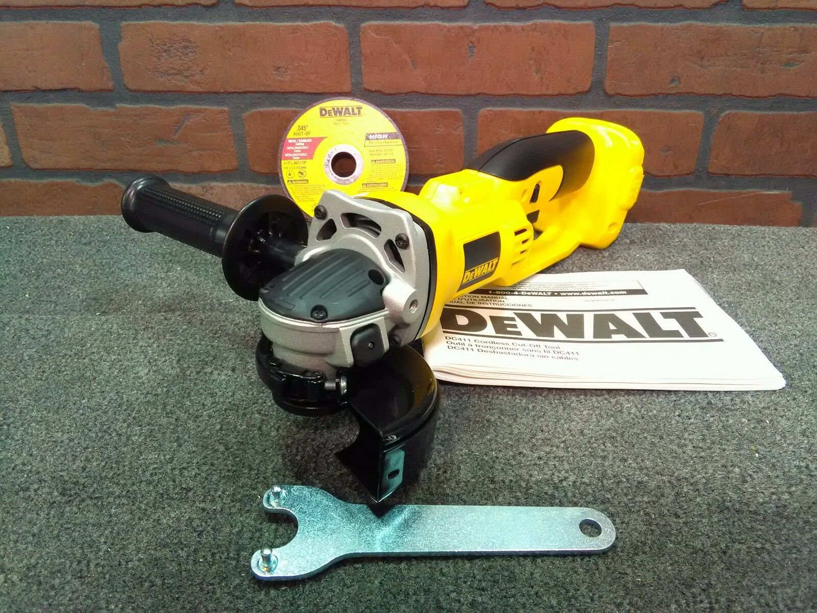 Dewalt DC411B 4-1 2  HD 18V Cut Off Tool-NEW