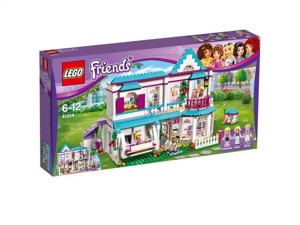 LEGO 41314 Friends Stephanies Haus Neu u Sofort Lieferbar