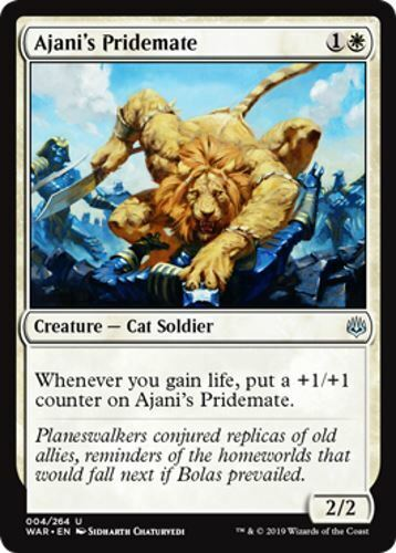 4 Ajani/'s Pridemate War of the Spark