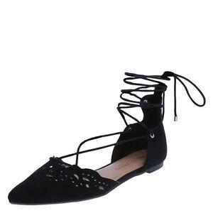 2821774d8cf Christian Siriano Women's Brunch Ghillie Flat Shoes | eBay